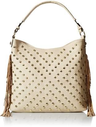 MG Collection Studded Tassel Bag