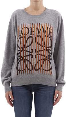 Loewe Sweater Grey Cashmere