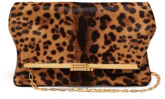 BIENEN-DAVIS PM calf-hair clutch