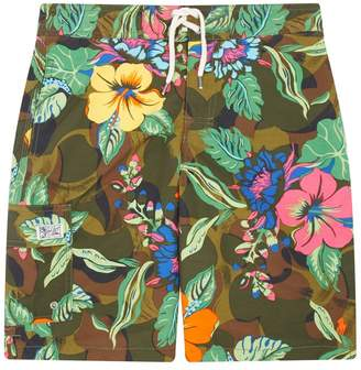 Polo Ralph Lauren Hawaii Print Swim Shorts