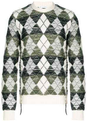 J.W.Anderson argyle knit sweater