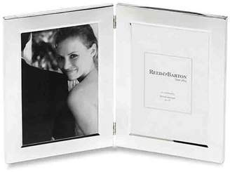 Reed & Barton 5 x 7 Double Photo Classic Silver Picture Frame by
