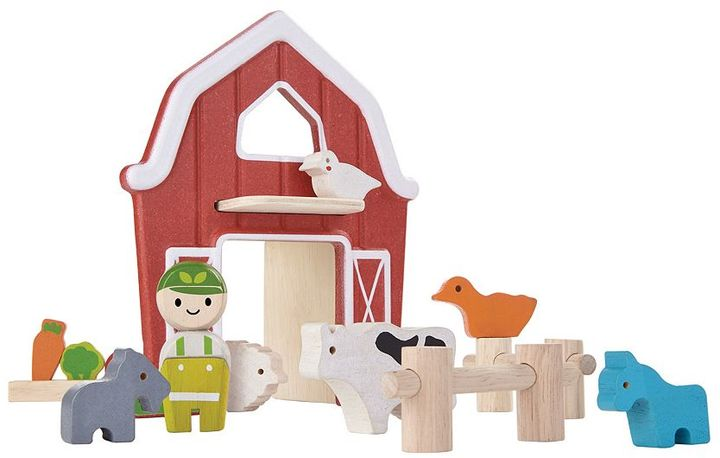 Plan Toys Barn Set