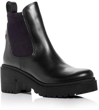 Moncler Women's Vera Block-Heel Platform Booties