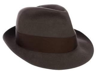 Borsalino Wool Fedora Hat