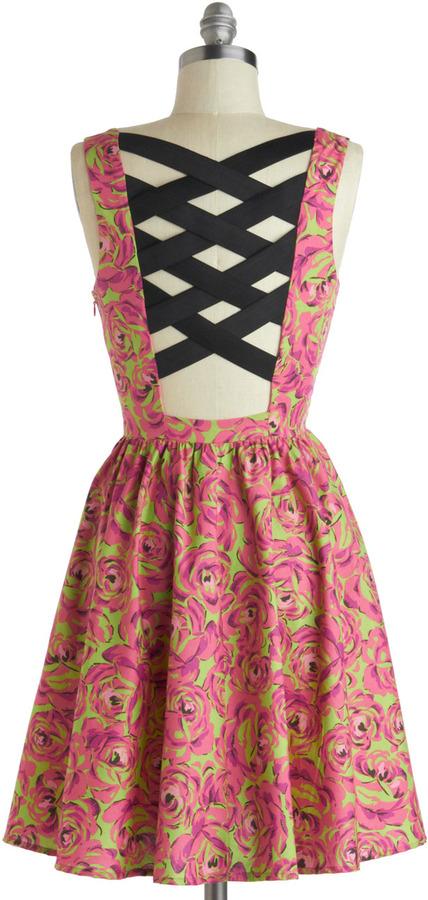 Betsey Johnson Latticework Like a Charm Dress