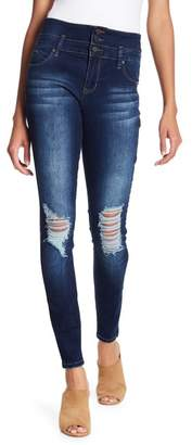 YMI Jeanswear Outerwear 3-Button High Rise Skinny Jeans