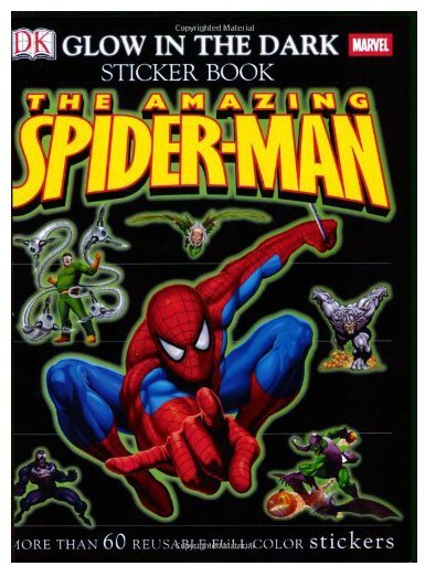 Ultimate Glow In the Dark Sticker Book: Spider-Man