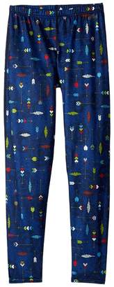 Hot Chillys Kids Midweight Print Bottom Boy's Clothing