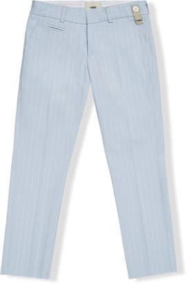Fendi pinstriped trousers