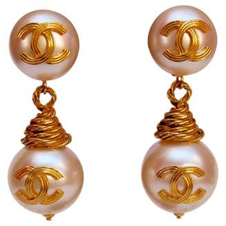 Chanel Vintage Other Pearl Earrings