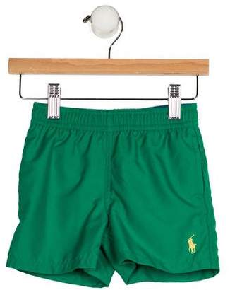 Ralph Lauren Boys' Three Pockets Swim Shorts w/ Tags
