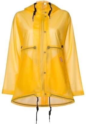 Hunter vinyl smock transparent coat