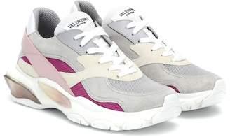 56cf0e9c0b98ea Valentino Bounce suede sneakers