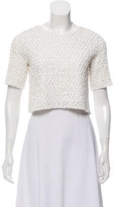 Alexis Textured Short Sleeve Top