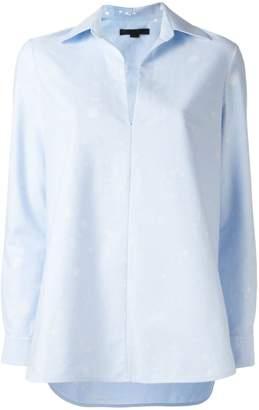 Alexander Wang paint splatter blouse