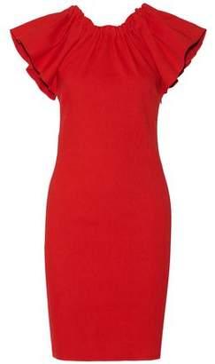 Lanvin Ruffled Linen-Blend Dress