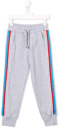 MSGM Kids side panelled track pants