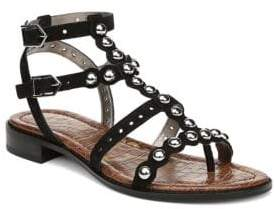 Sam Edelman Diva Studded Suede Sandals