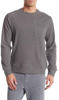 Grayers Harris Textured Loop Pocket Crew Neck Sweater