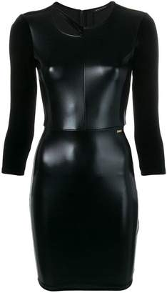 Armani Exchange fitted mini dress