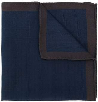 Fashion Clinic Timeless contrast trim pocket square