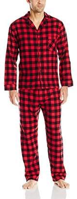 Hanes Men's Flannel Pajama Set-