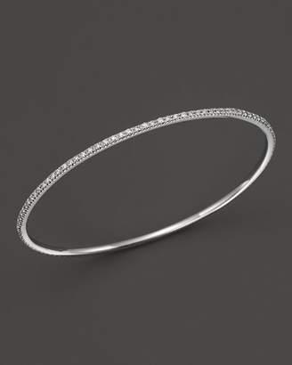 KC Designs Diamond Bangle in 14K White Gold
