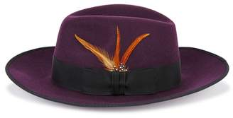 Christys London Christys' London Madison Plum Wool Fedora