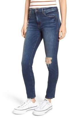 BP Ripped High Waist Skinny Jeans