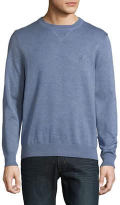 Nautica Jersey Crew Neck Sweater