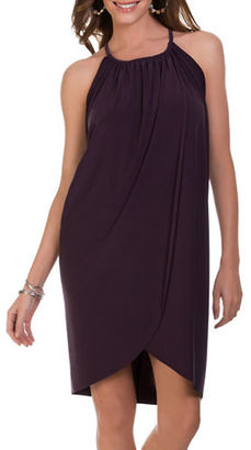 Magicsuit Solid Draped Dress $84 thestylecure.com