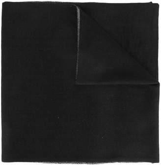 Versace two-tone logo scarf