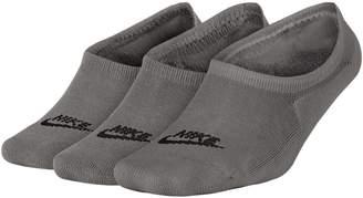 Nike Womens 3-Pack Sportswear Cotton Footie Socks