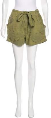 Isabel Marant High-Rise Mini Shorts