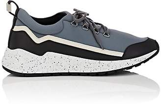 Buscemi Men's RUN1 Neoprene & Leather Sneakers - Gray