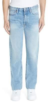 Acne Studios 1996 Straight Leg Jeans (Light Blue Trash)