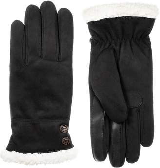 Isotoner Womens SmartDRI Brushed Microfiber Gloves