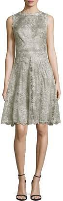 Tadashi Shoji Women's Lace Fit-&-Flare Dress