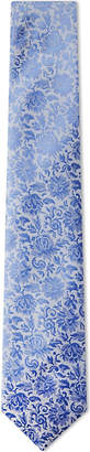 Duchamp Classical floral silk tie