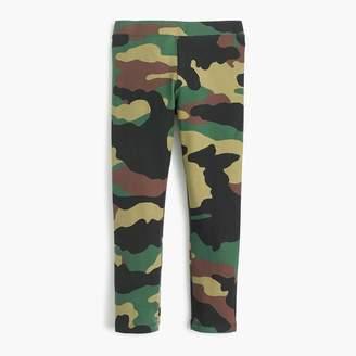J.Crew Girls' everyday leggings in camo