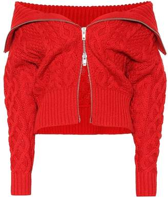 Self-Portrait Off-the-the shoulder sweater