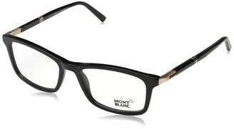 Montblanc Unisex Adults' Mont Blanc Brillengestelle Mb0540 001-55-18-145 Optical Frames