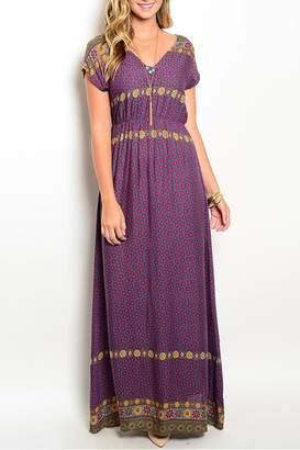 En Creme Boho Maxi Dress