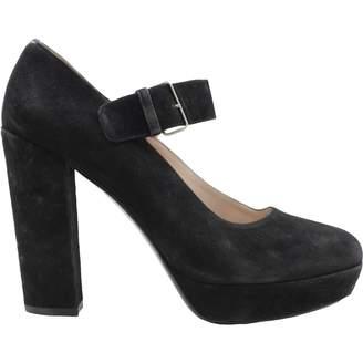 Miu Miu Black Suede High heel
