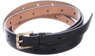 Dolce & Gabbana Perforated Wrap Around Belt