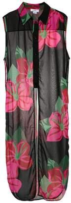 Amir Slama flower print cover-up