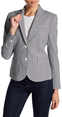Anne Klein Seersucker Jacket $129 thestylecure.com
