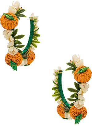 Mercedes Salazar Naranjas Earrings