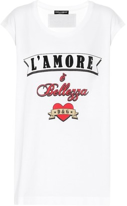 Dolce & Gabbana Cotton tank top